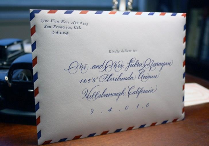 Envelopes For Wedding Invitations