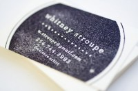 Rubber Stamp Business Cards