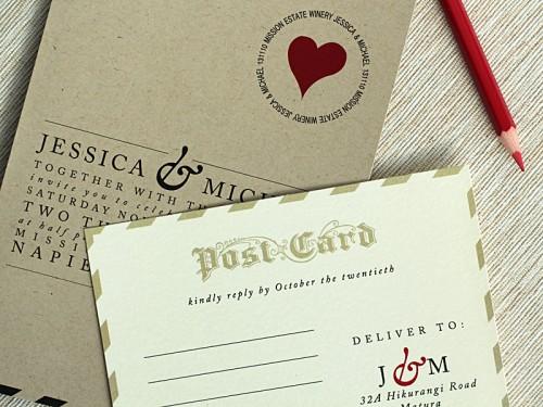 Love-Letter-Wedding-Invitations-Postcard-RSVP