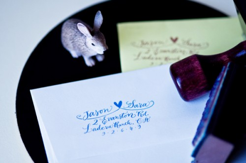 Calligraphy-Address-Stamp-Heart