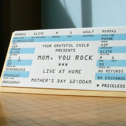 afavorite Mom Ticket 500x500