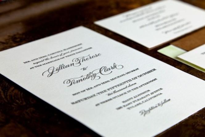Tim S Eclectic Vintage Wedding Invitations