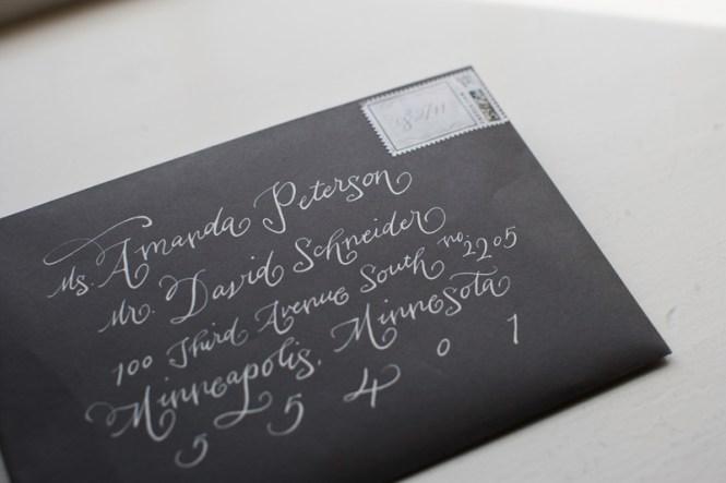 Custom Wedding Envelope Printing For Guest Addresses