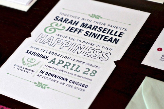 Beautiful Wedding Invitation In Black And White With Script Invitations By Shine