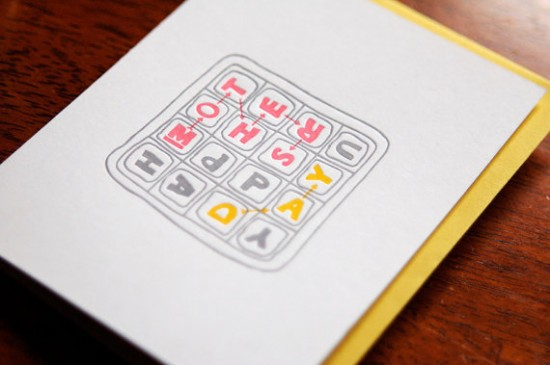 Wild Ink Press Letterpress Mothers Day Card 550x365 Mothers Day Cards, Part 2