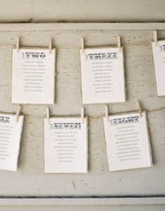 Day of wedding stationery inspiration and ideas seating charts via oh so beautiful paper also rh ohsobeautifulpaper