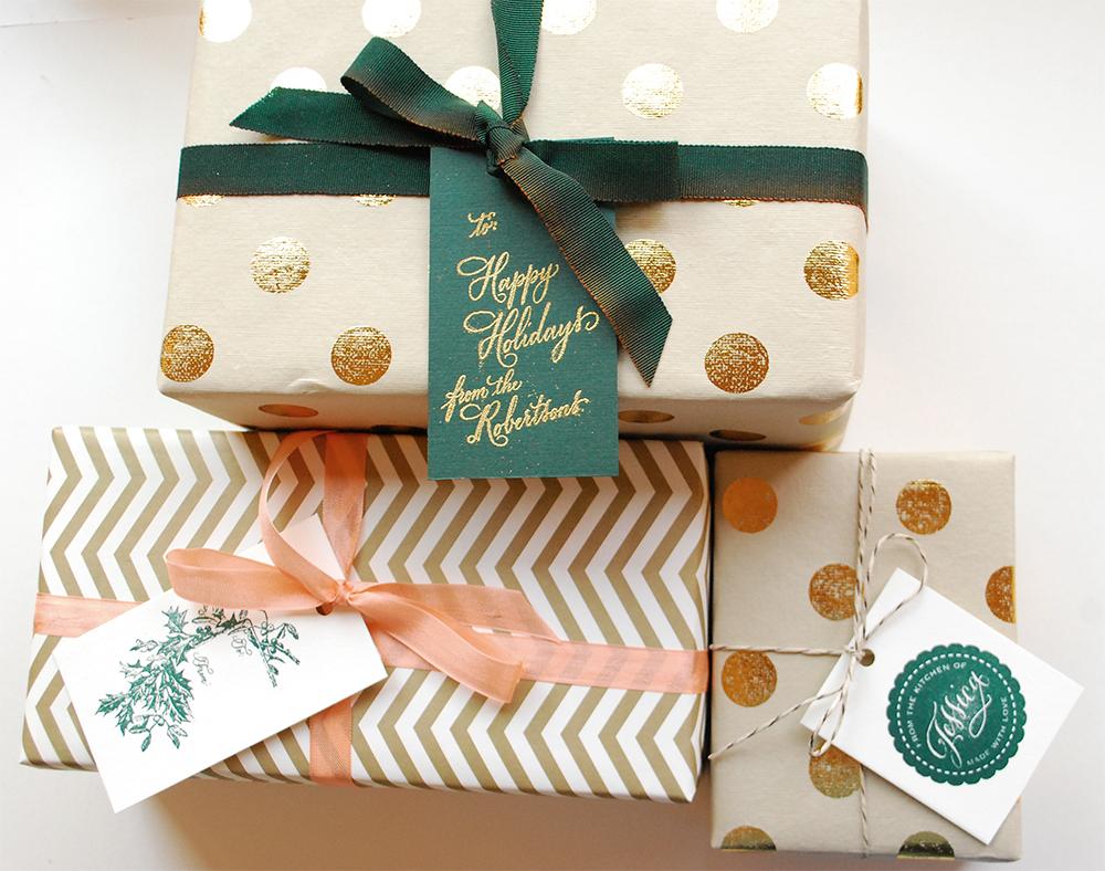 diy tutorial festive wrapping