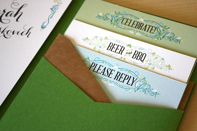 Garden Party Themed Wedding Invitations New Wedding