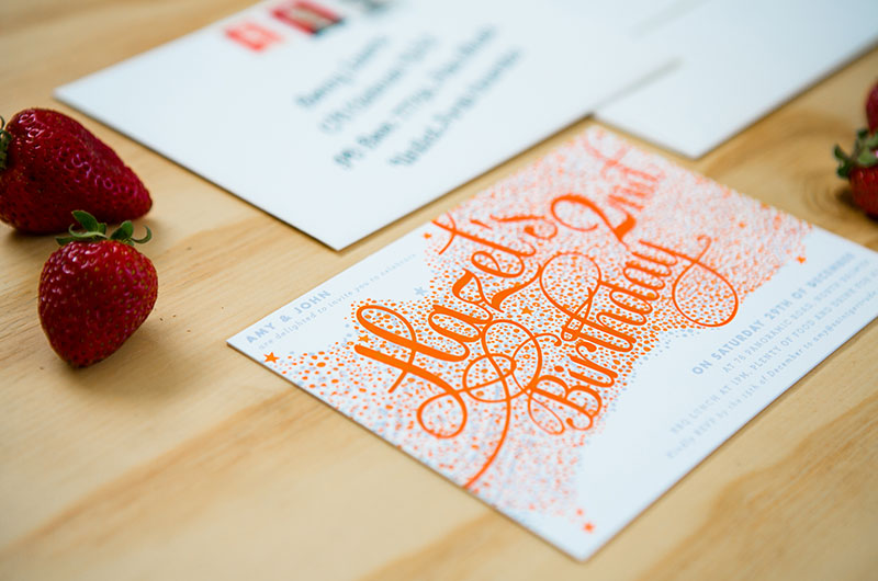 3d Decoder Surprise Wedding Invitations By Saint Gertrude Design Via Oh So Beautiful Paper 6