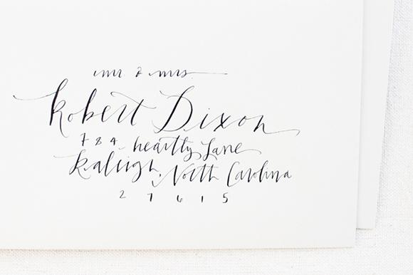 Calligraphy Inspiration: Meagan Tidwell Design