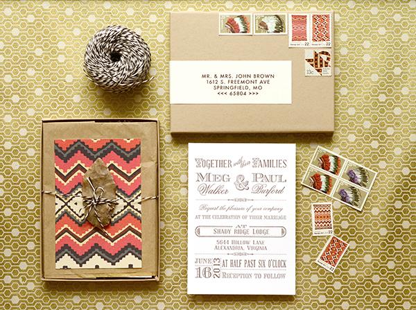 Silk Wedding Invitation Box In Gatefold Style