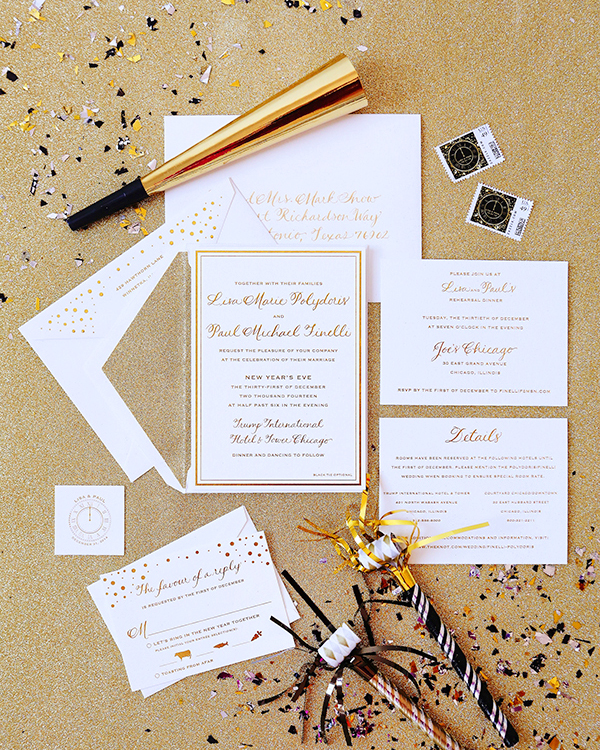 Chevron Wedding Invitations