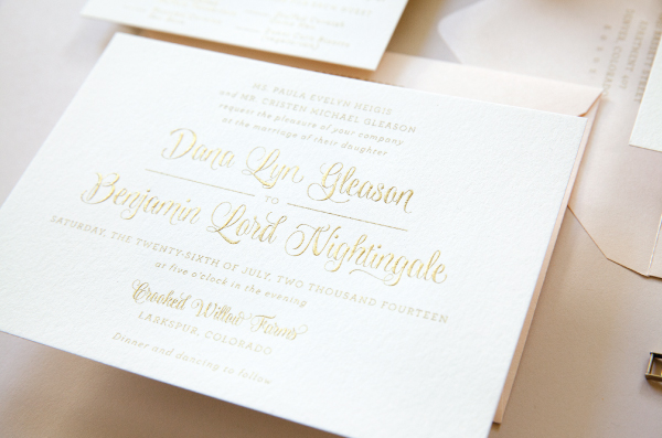 Or A Traditional Yet Trendy Invitation With Letterpress Frame Around Stylish Monogram Such As Our Ornate Wedding