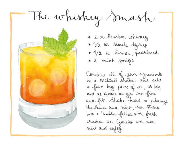 Whiskey Smash