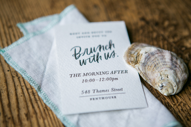 Modern Calligraphy Fabric Wedding Invitations By Bash Studio And Smudge Ink Brush Lettering Chelsea