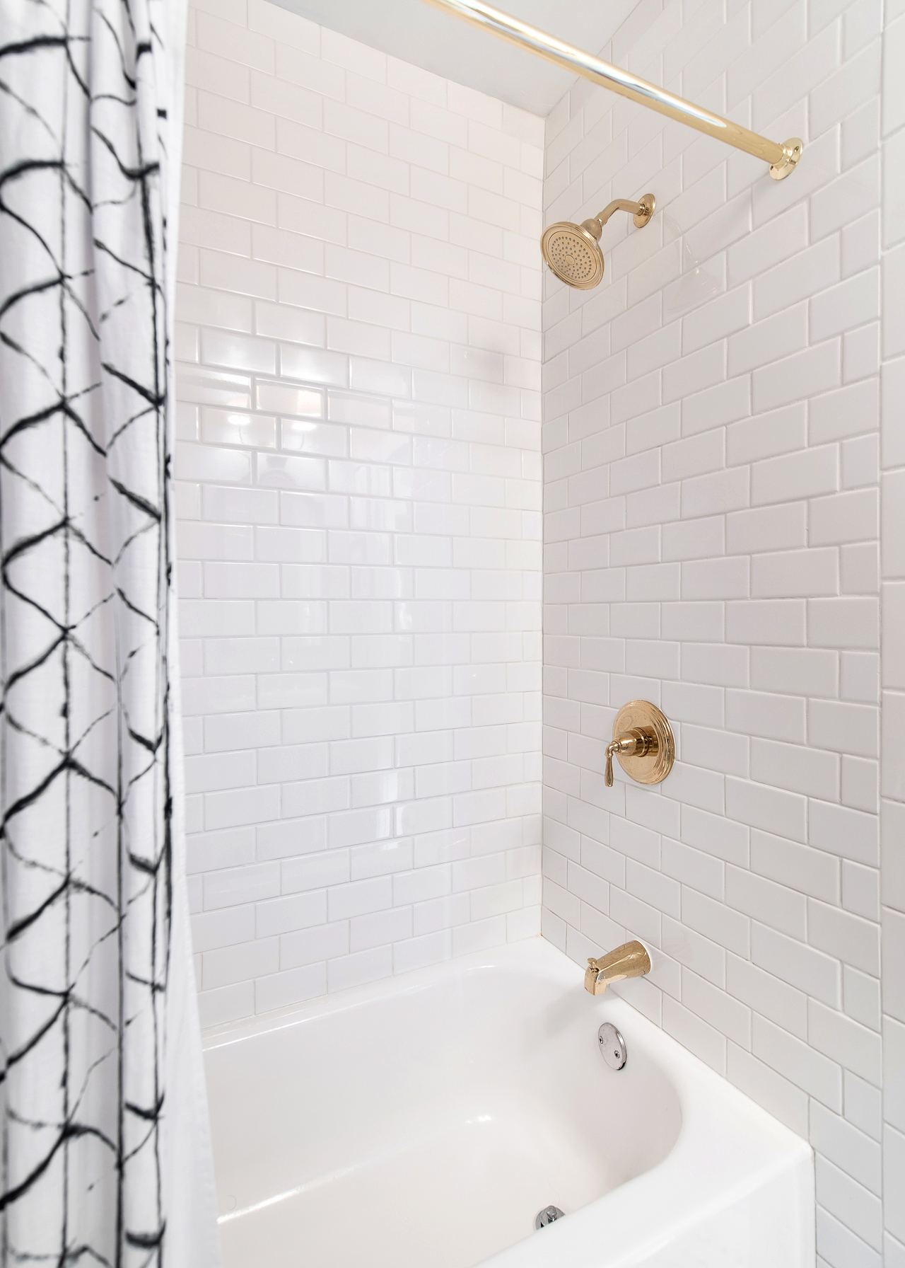 1920sinspired Classic Small Bathroom