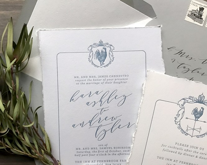 Country Chic Wedding Invitations In Blush Vintage