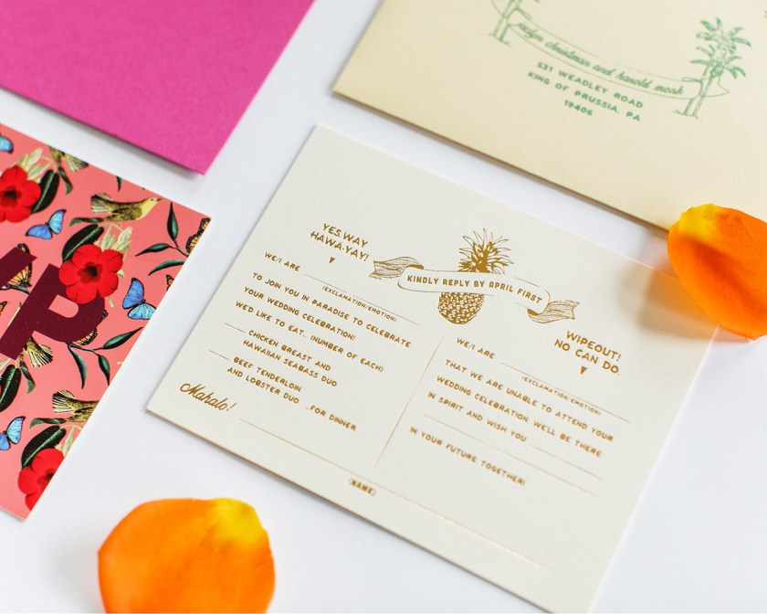 Gold Coast Wedding Invitations Choice Image And Party