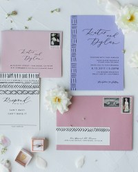 Wedding invitation ideas oh so beautiful paper pastel mudcloth inspired wedding invitations junglespirit Gallery