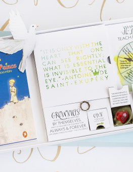 The Little Prince First Birthday Party Invitation