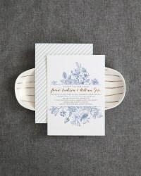 Wedding invitation ideas oh so beautiful paper chinoiserie inspired blue and white wedding invitations junglespirit Choice Image