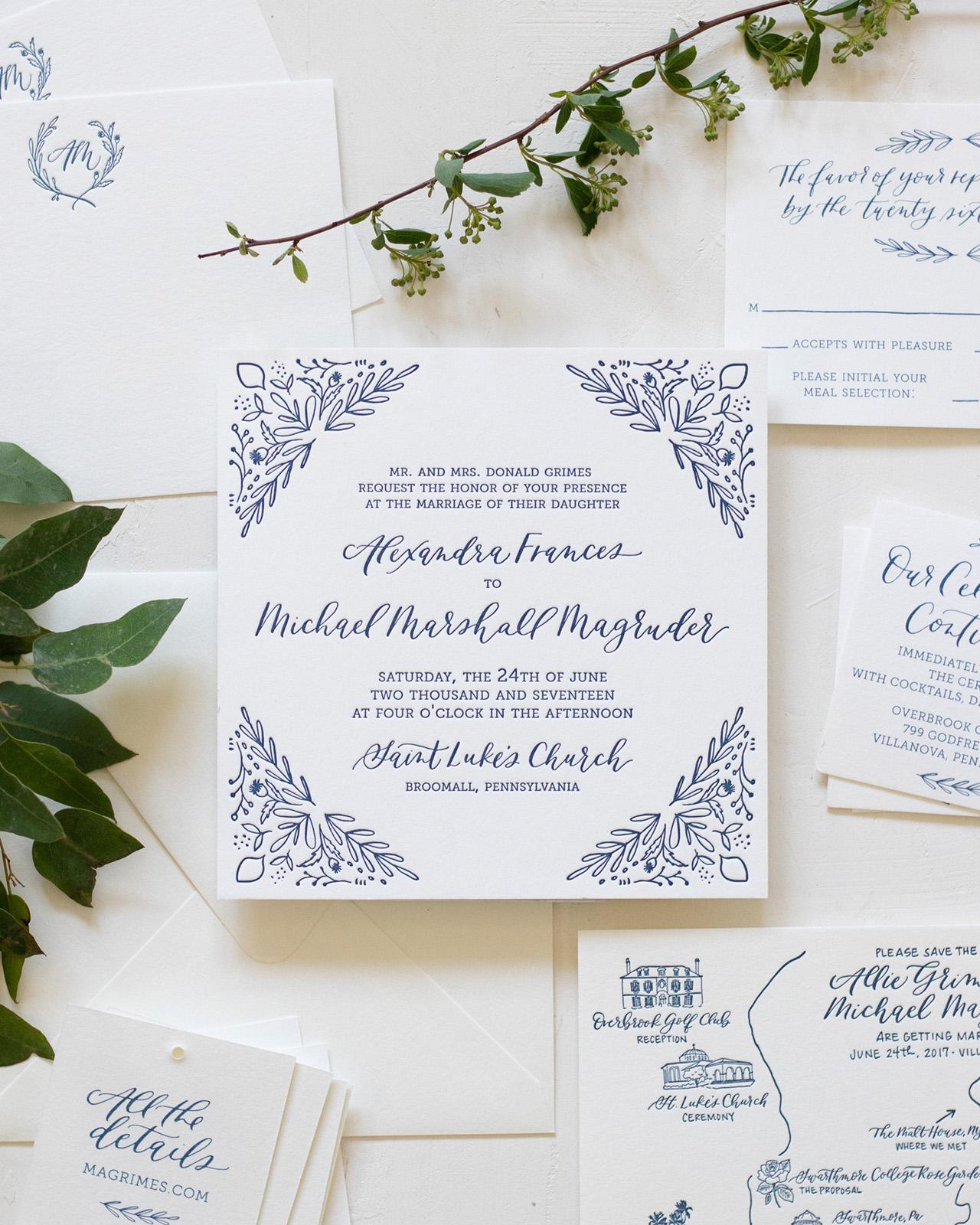 Wedding Invitation Ideas Oh So Beautiful Paper
