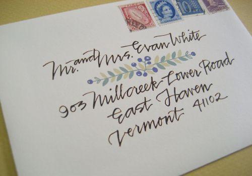 Lovely  Modern Calligraphy from Primele