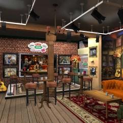 Friends Sofa Replica Cheap Single Beds Uk Mania Mini Reunion Central Perk And Coffee