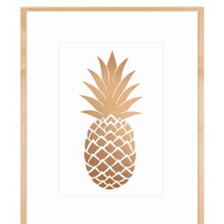 pineapple pretty printables decor fun ohsolovelyblog