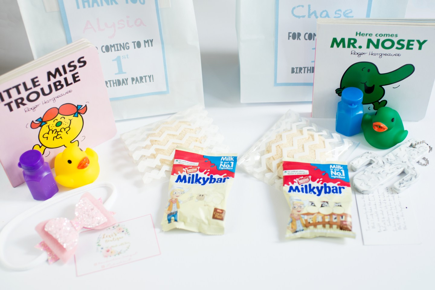 party bag ideas for babies under 1
