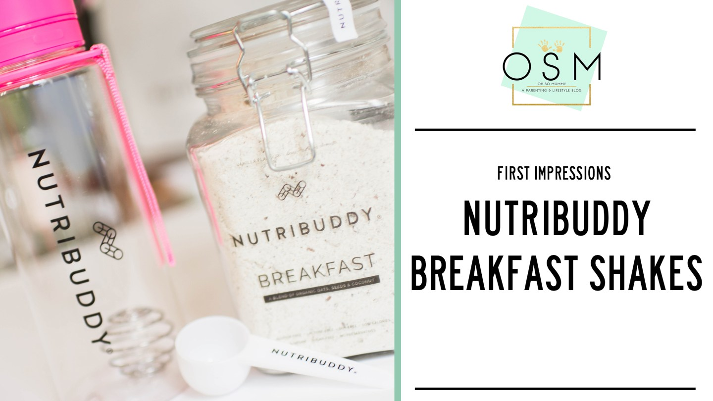 FIRST IMPRESSIONS | NUTRIBUDDY BREAKFAST SHAKES