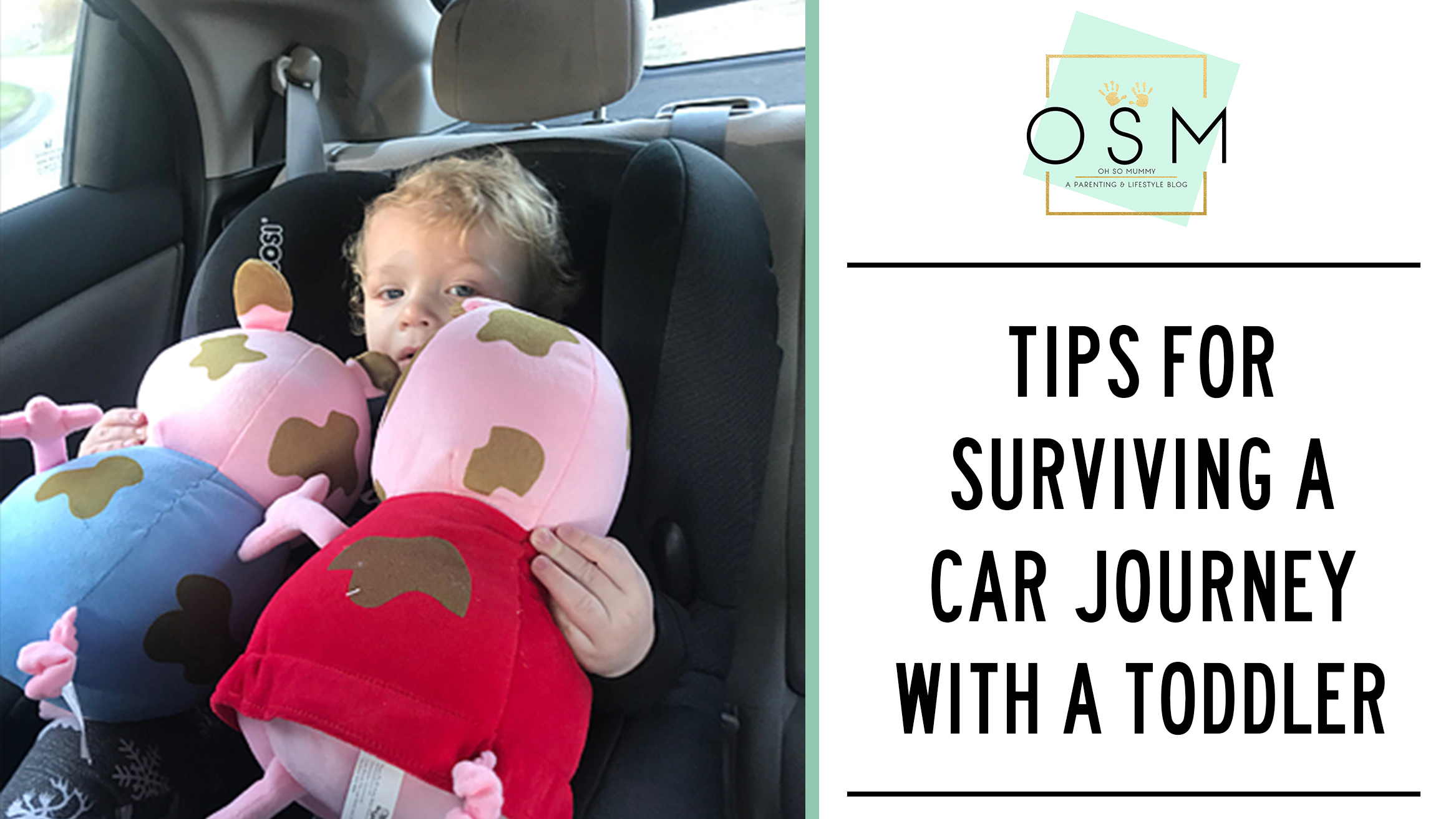 Tips for surviving car journeys with toddlers – Oh So Mummy