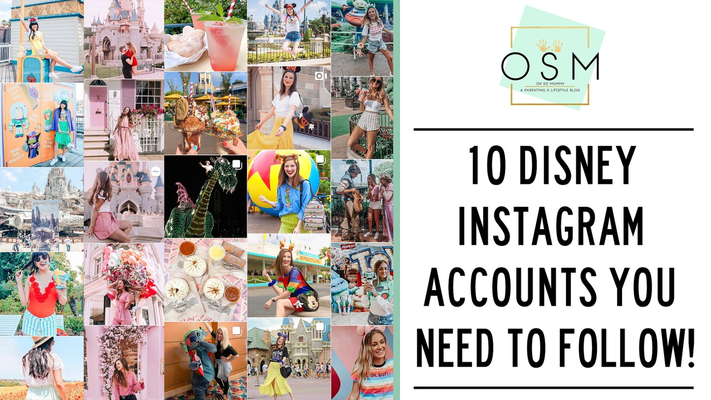 10 DISNEY INSTAGRAM ACCOUNTS YOU NEED TO FOLLOW!