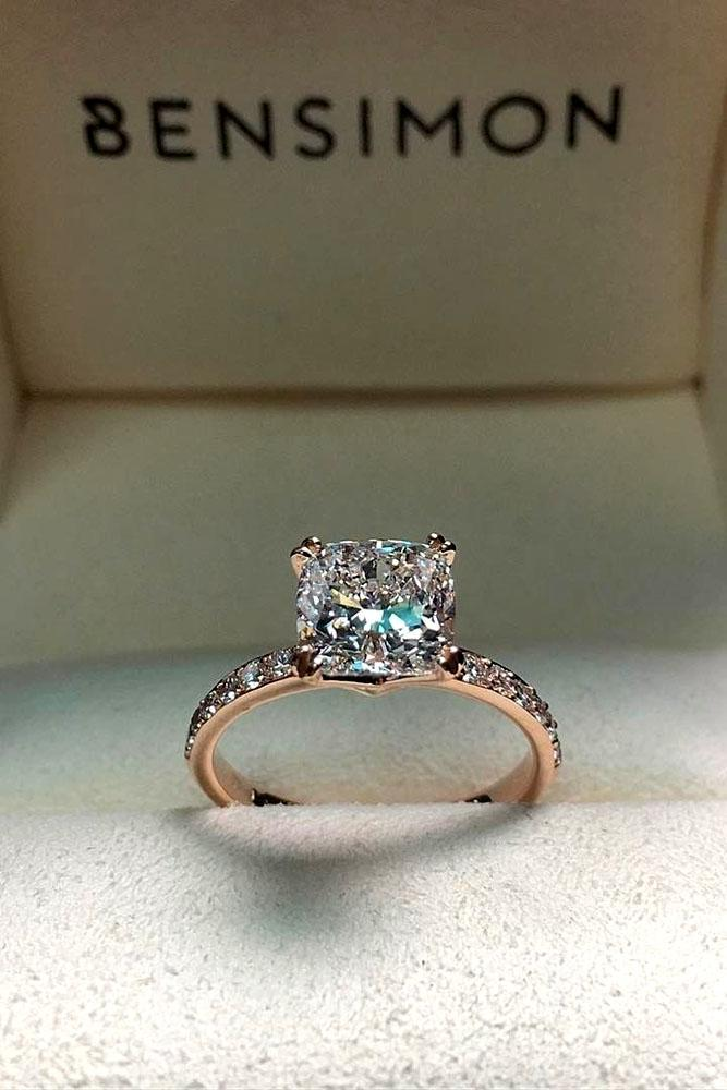 33 Incredibly Beautiful Diamond Engagement Rings  Oh So