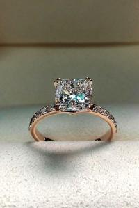 33 Rose Gold Engagement Rings By Famous Jewelers | Oh So ...