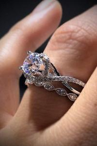 30 Excellent Wedding Ring Sets For Beautiful Women