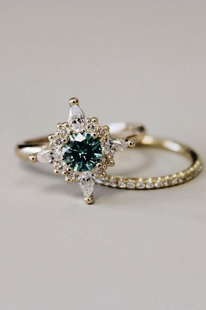 33 Gorgeous Colored Engagement Rings Oh So Perfect Proposal