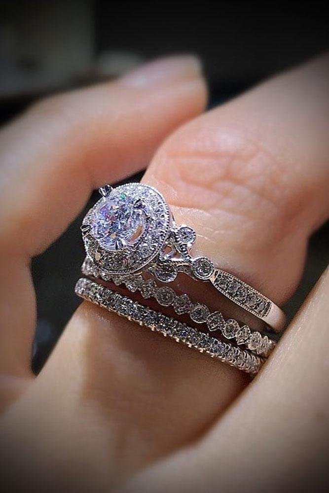 27 Unique Wedding Rings For Somebody Special  Oh So Perfect Proposal