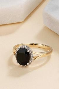 45 Unique Black Diamond Engagement Rings   Oh So Perfect ...