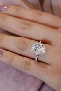 36 Oval Engagement Rings That Every Girl Dreams