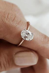 24 Oval Engagement Rings That Every Girl Dreams | Oh So ...