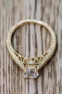 18 The Best Yellow Gold Engagement Rings From Pinterest ...