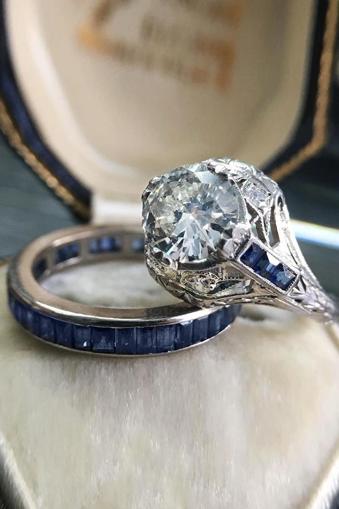 33 Art Deco Engagement Rings For Fantastic Look Oh So Perfect Proposal