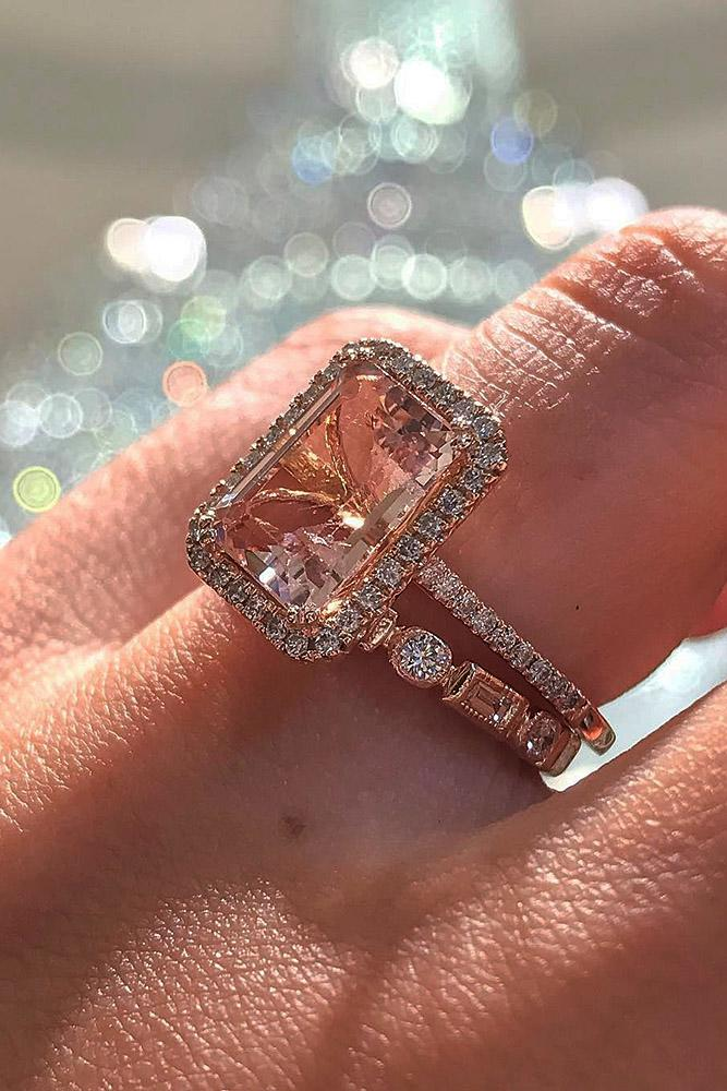 21 Rose Gold Wedding Rings For The Romantic Bride To Be
