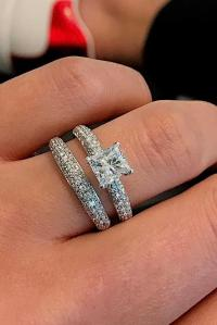 18 Beautiful Wedding Ring Sets For Your Girl | Oh So ...