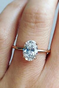 39 Best Rose Gold Engagement Rings For A Tender Look | Oh ...