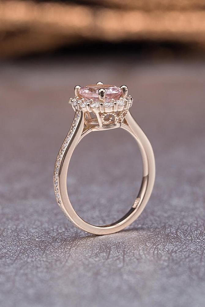 33 Unique Engagement Rings In Rose Gold  Oh So Perfect Proposal