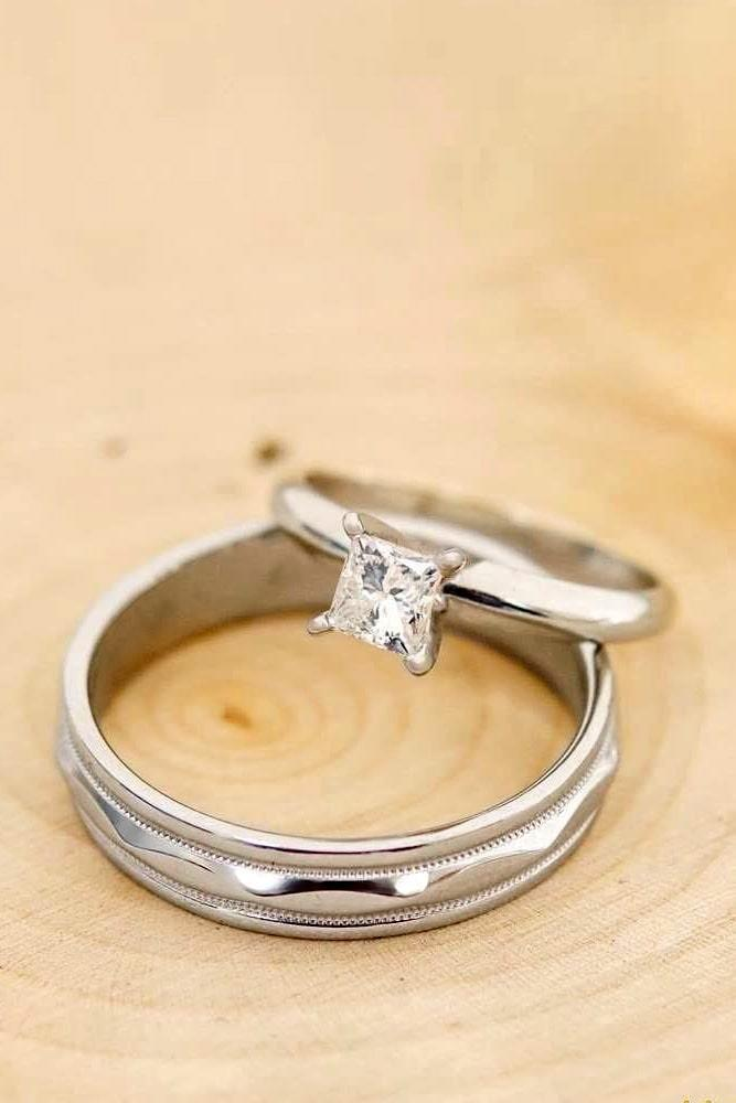 30 Unforgettable Princess Cut Engagement Rings To Get Her Heart Oh So Perfect Proposal