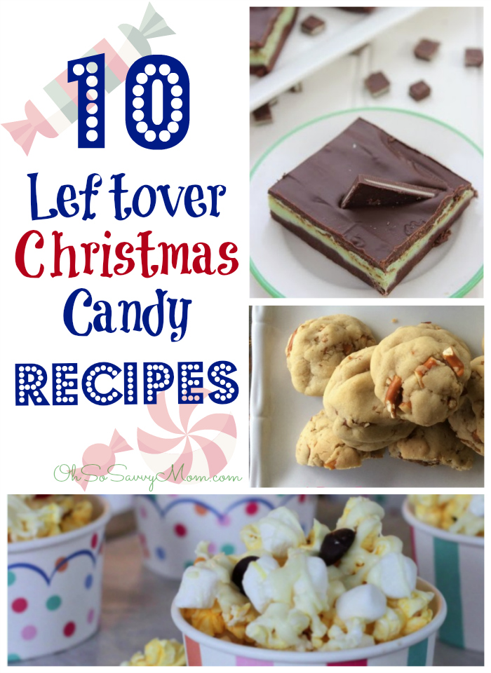 10 Creative Leftover Christmas Candy Recipes