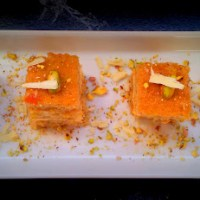 At War With Eastern Spices: Cardamom & Apricot Layer Cake